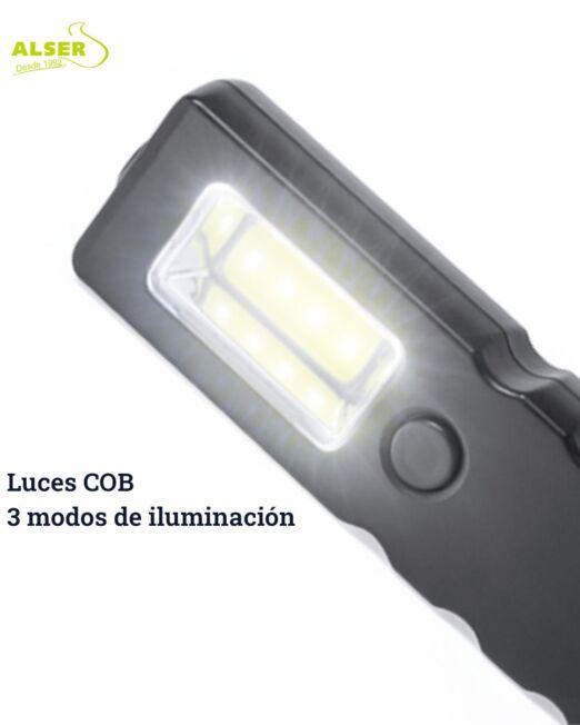 martillo de seguridad con luces COB