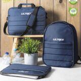 Mochila Rpet juego con maletín y portadocumentos
